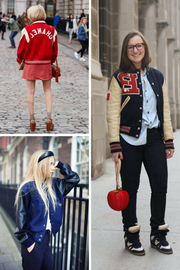 Fashion Comeback: 27 Varsity Jacket