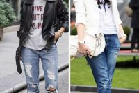25 Boyfriend Jeans Fashion Looks