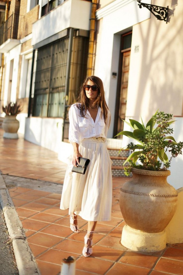 Photo of 12 Awesome Street Style Looks mit Röcken