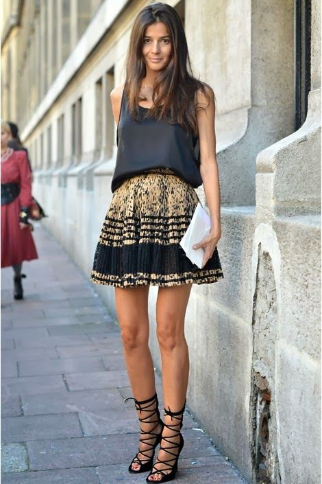 12 Awesome Street Style Looks mit Röcken