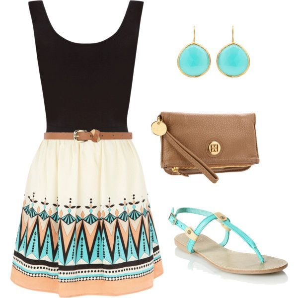 13 Ready-to-Go Aztec Print Polyvore sucht den Sommer